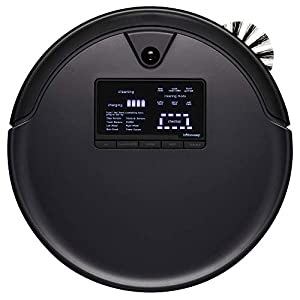 bObsweep Pet Hair Plus Robotic Vacuum Cleaner and Mop, Midnight 2