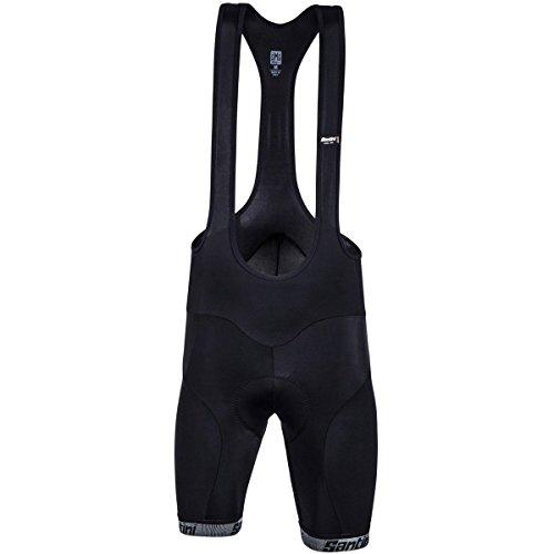 Santini Men's Core Bib Shorts, Black, (Santini Bib)