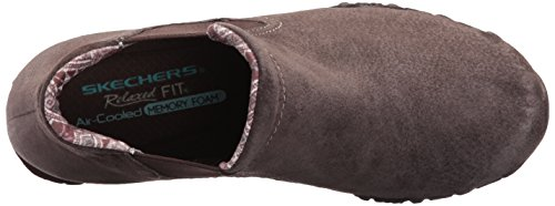 Chelsea Bikers Femme Bottes Londoner Skechers Marron Chocolate FtxqTwF