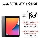 Keyboard Case for iPad 8th Generation (2020)/7th