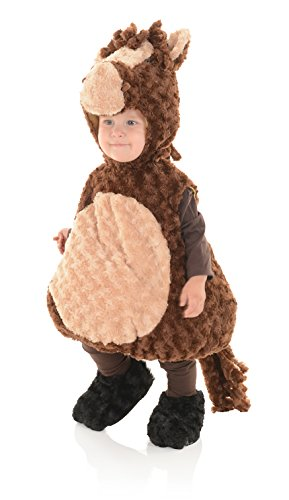 [Horse Plush Belly Babies Toddler Costume] (Hippo Costume For Toddler)