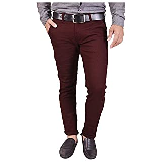 41PYIM32NHL. SS320 Nation Polo Club Men's Slim Fit Casual Trouser