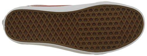 Uomo Skool Basse Red Premium True Old White Rosso Vans Scarpe UA Leather Racing Ginnastica da pxfgwxq0nR