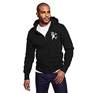 Gaga.idol.Type hoodies Mens Warm Sweatshirt Sherpa Lined Basic Hooded Cotton Fleece Slim Hoodie Jacket