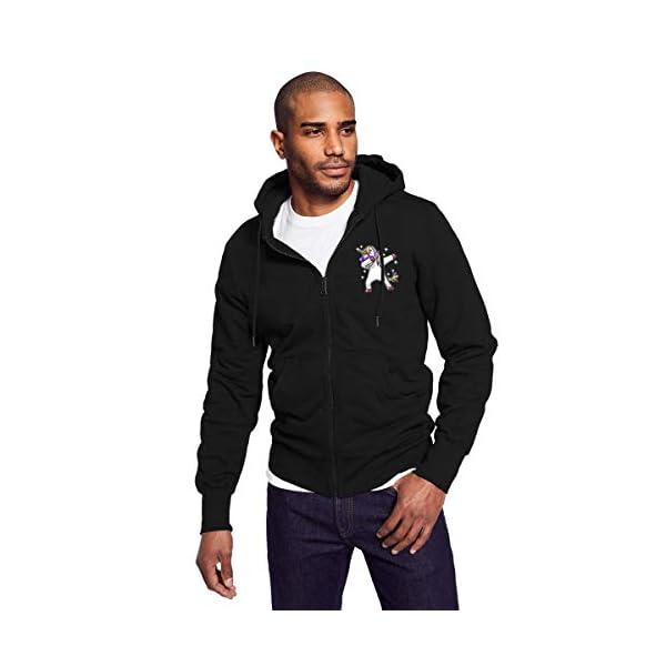 Gaga.idol.Type hoodies Mens Warm Sweatshirt Sherpa Lined Basic Hooded Cotton Fleece Slim Hoodie Jacket 4