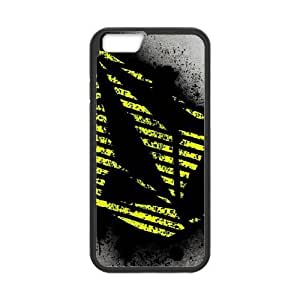Popular And Durable Designed TPU Case with Volcom iPhone 6 4.7 Inch Cell Phone Case Black