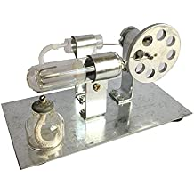 Goodlife623 New Mini Stirling Engine Model Hot Air Steam Powered Toy Physics Experiment