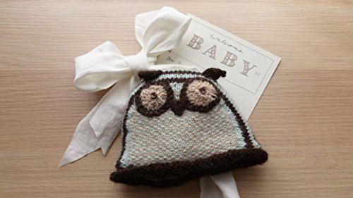 Knit Baby Owl Hat ()