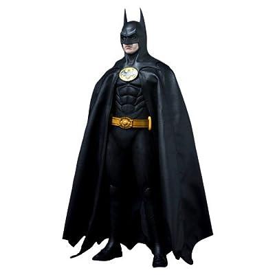 Hot Toys Batman 1989 Movie Masterpiece Deluxe Collectors 1/6 Scale Action Figure Batman Michael Keaton