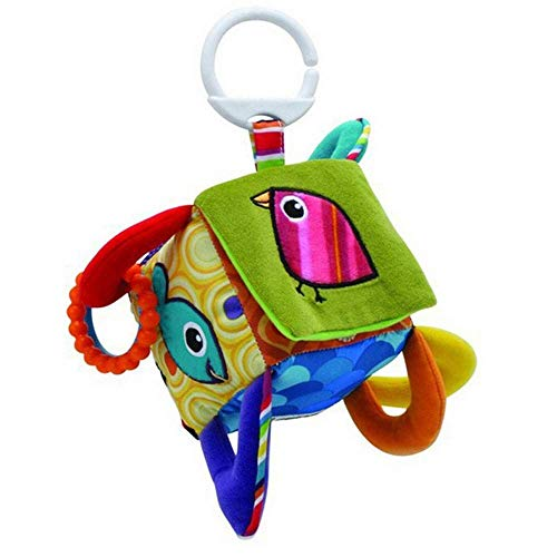 Clutch Ashley (Ashley's Multifunctional Clutch Cube Hang Bell Baby Rattles Toys.The Peek-a-Boo Surprise Cube)