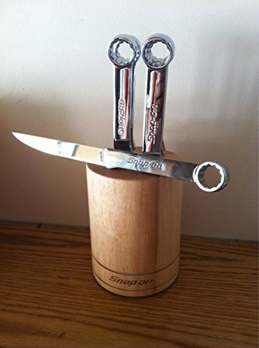 Snap-On Stainless Steel Knife Set (Box Wrench Inspired)