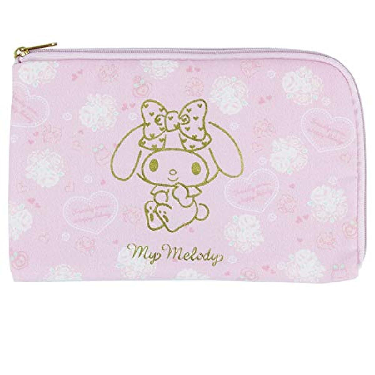 [해외] 자스다통상 마이멜로디 마스크 파우치 로즈 핑크