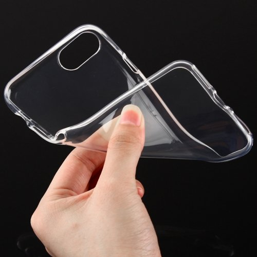 Apple Iphone 7 Plus Clear Case Ultra Thin And Flexible Silicone Cover With Tpu 0 2Mm  The Thinnest