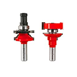 "Freud 1-1116"" (Dia.) Premier Adjustable Rail & Stile Bit With 12"" Shank (Round Over Bead) (99-763)"
