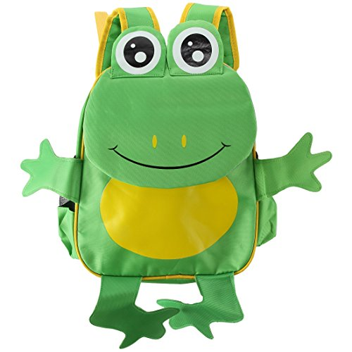 - Home-X Kids Backpack and Travel Bag. Frog