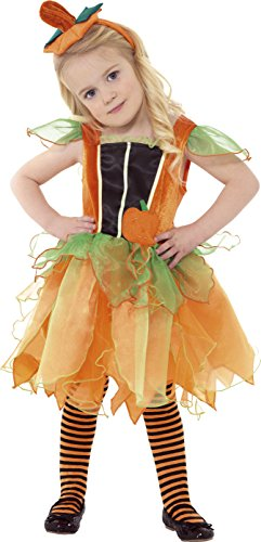 Smiffys Girl's Pumpkin Fairy (Child Fairy Costume Uk)