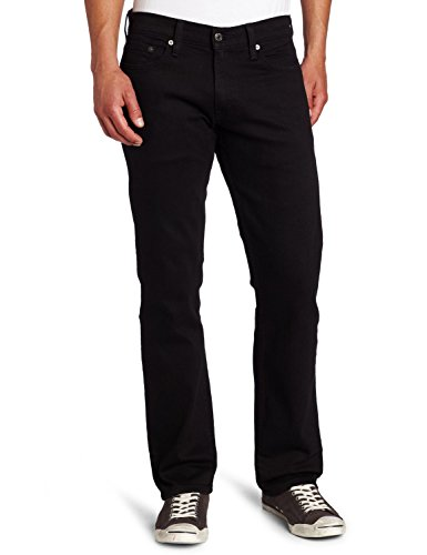 Levi's Men's 514 Straight Jean, Black, 40Wx34L (514 Slim Straight Mens Jeans)
