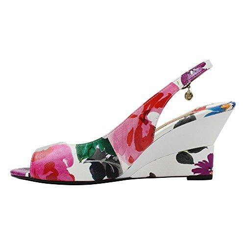 J .renee Womens Sailaway Wig Pump Bright Multi