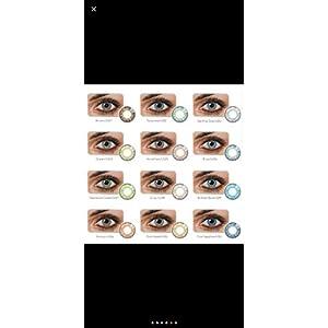 Freshlook Colorblends Plain Powerless Contact Lens - Pure Hazel (2 Lenses/Box) (6 Colour Option Available)
