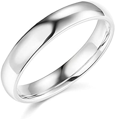 14k Yellow OR White Gold 6mm SOLID COMFORT FIT Plain Wedding Band
