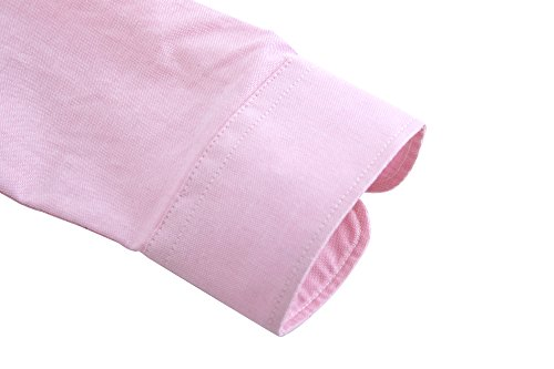 in Camicette da Solid Camicia Oxford Dioufond Donna Rosa Oxford Tessuto 1 Donna CUq04