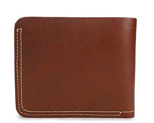 Brass Size De En Cuir Vintage Brown Léger Hommes Pour S color Vachette Court Portefeuille q6OWwPZxA