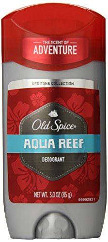 Old Spice Red Zone Collection Aqua Reef Scent Men's Deodorant 3 Oz Aqua Deodorant