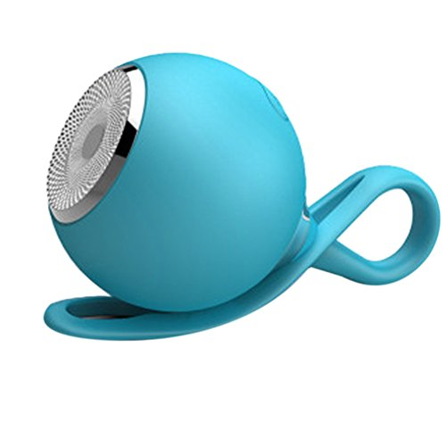 Pendant New 0.25 (New Portable Mini Waterproof Bluetooth Speaker Ball Pendant Outdoor Stereo Wireless Speakers (Blue))