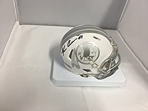 Kirk Cousins Autographed Signed Washington Redskins Rare ICE Speed Mini Helmet Hologram & Coa Card