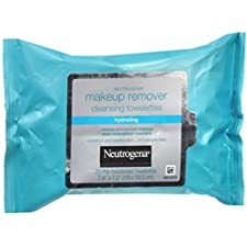 Neutrogena Makeup Remover Cleansing Towelettes 25 Each (4 Pack)