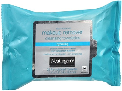 Neutrogena Makeup Remover Cleansing Towelettes 25 Each (P...