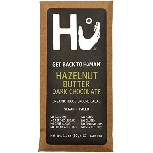 - Hu Chocolate Bars | Natural Organic Vegan, Gluten Free, Paleo, Non GMO, Fair Trade Dark Chocolate | 2.1oz Eac (Hazelnut Praline, 12 Pack)