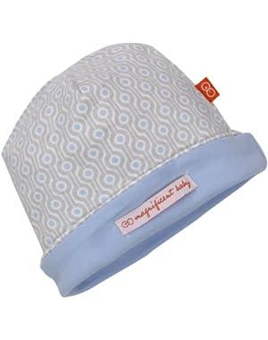 Boys Newborn Reversible Hat