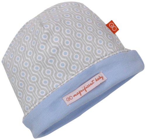 Magnificent Baby-Boys Newborn Reversible Cozy Cap, Mod Dots, One ()