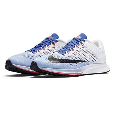 Nike Damen WMNS Air Zoom Elite 9 Laufschuhe, Mehrfarbig (AluminumWhitemedium BlueBlack), 37.5 EU