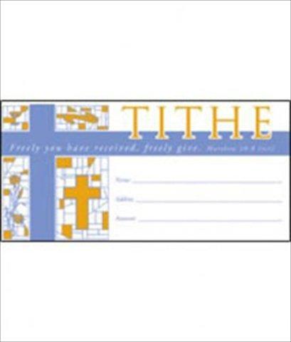 Warner Press 46993 Offering envelope Tithe Matt 10 8 by Warner Press