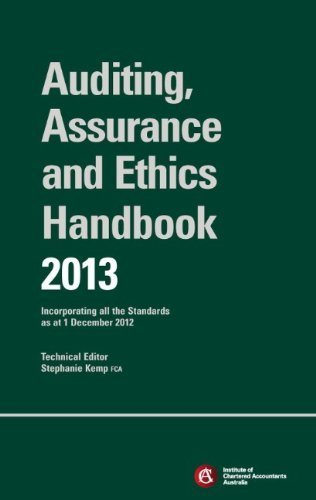 Chartered Accountants Auditing & Assurance Handbook + Wiley E-Text 2013: Incorporating All the Standards as at 1 December 2012 by ICAA (Institute of Chartered Accountants in Australia) (2015-05-08) (Institute Of Chartered Accountants In Australia Icaa)