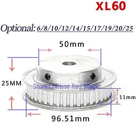 Fevas XL60 60 polea de distribución de 60 dientes, partes de ...