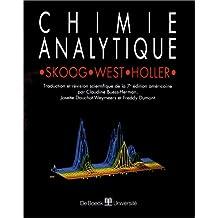 Chimie analytique - fondements (skoog/west/holler)