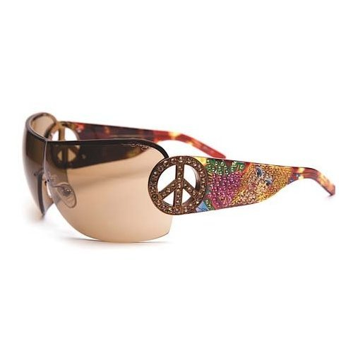 Ed Hardy EHS-027 Pin UP2 Graphics Sunglasses - - Sunglasses Hardy