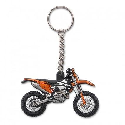Llavero de goma original de KTM EXC: Amazon.es: Coche y moto