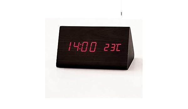 Reloj despertador luminoso moderno silencio creativo/ reloj ...