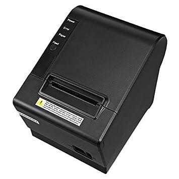 ACAMPTAR Impresora Peque?A Pos 200Mm / S 80Mm Impresora ...