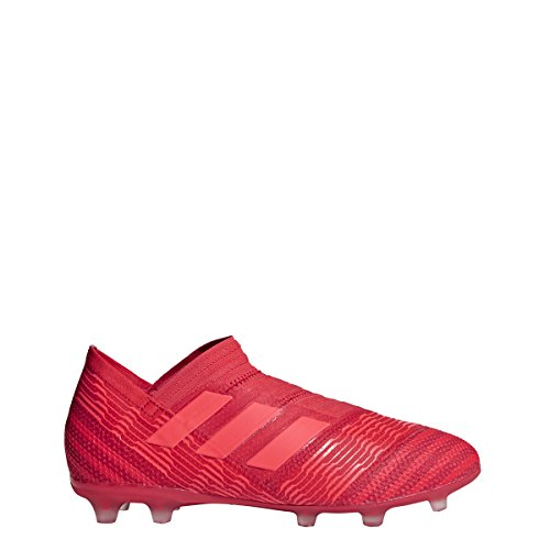 adidas Nemeziz 17+ Kid's Firm Ground Soccer Cleats (5) Red