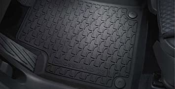 New Genuine Vauxhall Crossland X Black Rubber Floor Mats Set Of 4 13476012