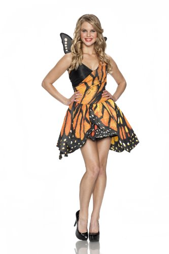 Delicious Monarch Butterfly Costume, Multi, Small