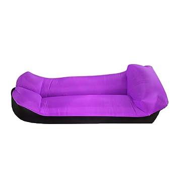 KfeiWO Almohada Puff Cama Sofa Hinchable Tumbona portátil ...