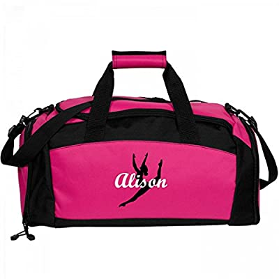 e47adc232d4a Girls Cute Ballet Dance Bag For Alison: Port & Company Gym Duffel ...