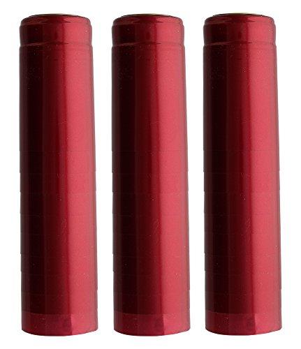 (1 X Metallic Ruby Red PVC Shrink Capsules-30 Per Bag)