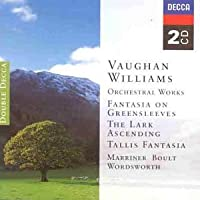 Vaughan Williams: (2CD) Lark Ascending, Tallis Fantasia, Greensleeves, Variations on Dives and Lazarus